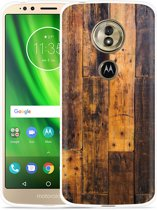 Moto G6 Play hoesje Special Wood