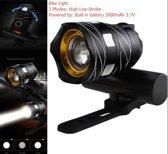 450 Lumen Phosphor LED - Zwart - Super felle fietslamp - Fietslamp - Fietsverlichting