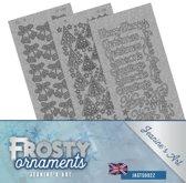 Stickerset - Jeanine's Art - Frosty Ornaments - Engels