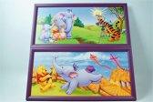 Disney Schilderij Duo Set Winnie de Poeh Paars 52 CM X 26 CM