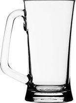 Strahl Design+Contemporary Bierglas met handvat - 502 ml - Transparant