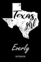 Texas Girl - Everly - Notebook