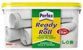 Perfax Ready&Roll Glasweefsellijm Behanglijm glasweefsel Behangplaksel - 10 Kg - Transparant