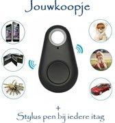 iTag keyfinder GPS tracker (ZWART) huisdieren bagage + stylus pen