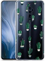 Oppo Reno 10X Zoom Hoesje Cactus