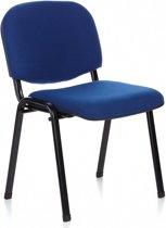 hjh office XT 600 - Bureaustoel - Conferentiestoel - Bezoekersstoel - Blauw / zwart