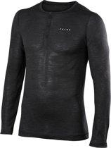 FALKE Silk Wool Longsleeved Shirt Heren 33421 - L - Grijs