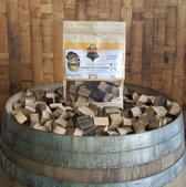 Mr. Barrel BBQ Rookchunks 1350gr zoete witte wijnvaten