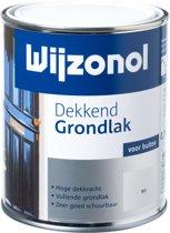 Wijzonol Dekkend Grondlak - 0,75l - Wit