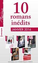 10 romans inédits de la collection Passions (n° 575 à 579 - janvier 2016)