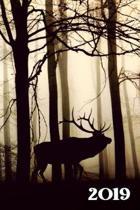 2019 Wochenplaner - Waldtiere Motiv