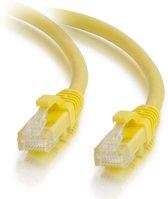 CablesToGo CAT5E Netwerkkabel - RJ45 - Geel - 1 m