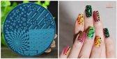 Stamping Plate 003 / nagel stempel- sjabloon