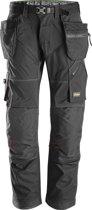 Snickers FlexiWork broek met holsterzak zwart maat XXXL taille 58 W42