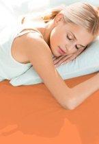 Schlafgut Hoeslaken Frottee Stretch (badstof) - 301-orange 140/200x160/200