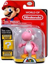 World Of Nintendo - Serie 1-3 - Roze Yoshi (Mystery Accessory Included!)