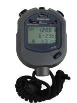 Tunturi Stopwatch met 20 Geheugens voor Tijd