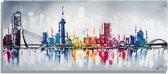 Skyline Schilderijen Rotterdam