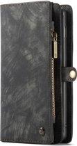 CaseMe Luxury Wallet Case Zwart Samsung Galaxy S10 Plus