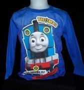 Thomas de trein longsleeve blauw maat 98