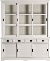 Furn4All - Buffetkast Rosaly - Wit - 180 Cm