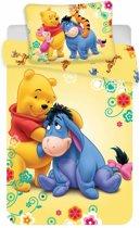 Baby dekbedovertrekje Winnie the Pooh 100 x 135 cm