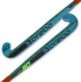 Brabo HockeystickVolwassenen - blauw/ zwart/ groen
