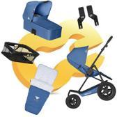 KOELSTRA - Mambo Daily - Combiwagen - Reiswieg / Buggy - voetenzak - boodschappenmandje