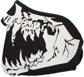 Rave skull masker motor bandana skelet - monster