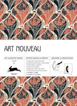 Art Nouveau, Pepin gift wrapping paper Vol.  87