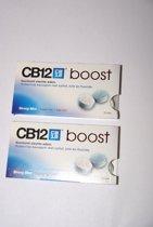 Cb boost kauwgum 2 pakjes met 10 kauwgums