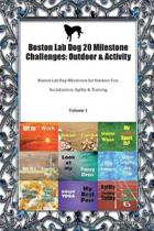 Boston Lab Dog 20 Milestone Challenges