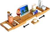 Roxiq - luxe bamboe badrekje - bamboe badplank - voor in bad