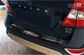 Avisa Zwart RVS Achterbumperprotector Volvo XC70 2007-2013 'Ribs'
