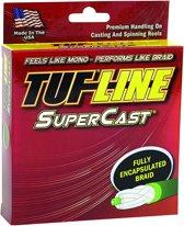 Tuf-line Supercast - Gevlochten lijn - 0.10 mm - 6 kg - 275 M