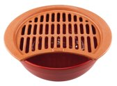 Piral Grill - Terracotta - Voor Barbecue - 36 cm Rood