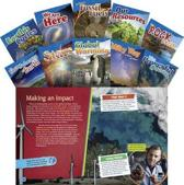 Let's Explore Earth & Space Science Grades 4-5, 10-Book Set (Informational Text
