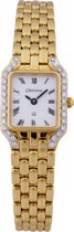 Orphelia - MON-7027-Swiss Movement- Dames Horloge Compleet 18 Karaat Geel  Goud -Diamant 0.30 Krt.