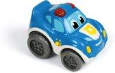 Politieauto met terugtrekfunctie Clementoni