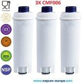 3x DeLonghi DLSC002 Waterfilter SER3017 van Icepure CMF006