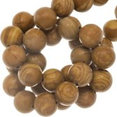 Wood Lace Stone Kralen (8 mm) 47 Stuks