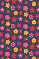 Summer Flowers: ToDo List Notebook Daily Tasks Journal, 6x9 Inch, 120 Pages
