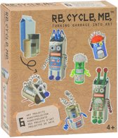 Re-cycle-me knutselpakket robotwereld