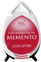 Inktkussen Memento Dew drops Love letters (1 st)