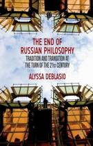 The End of Russian Philosophy
