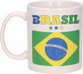 Mok / Beker Braziliaanse vlag 300 ml