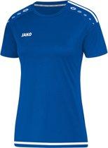 Jako Striker 2.0 Dames T-Shirt - Voetbalshirts  - blauw kobalt - 44