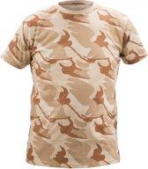 Camouflage t-shirt (180 g/m2) khaki maat L
