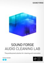 Magix Sound Forge Audio Cleaning Lab - Engels - Windows download