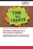 Cambio Institucional E Innovacion Regional